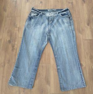 Wallflower denim jeans size 24 regular